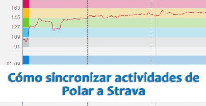 Cómo sincronizar actividades de Polar a Strava