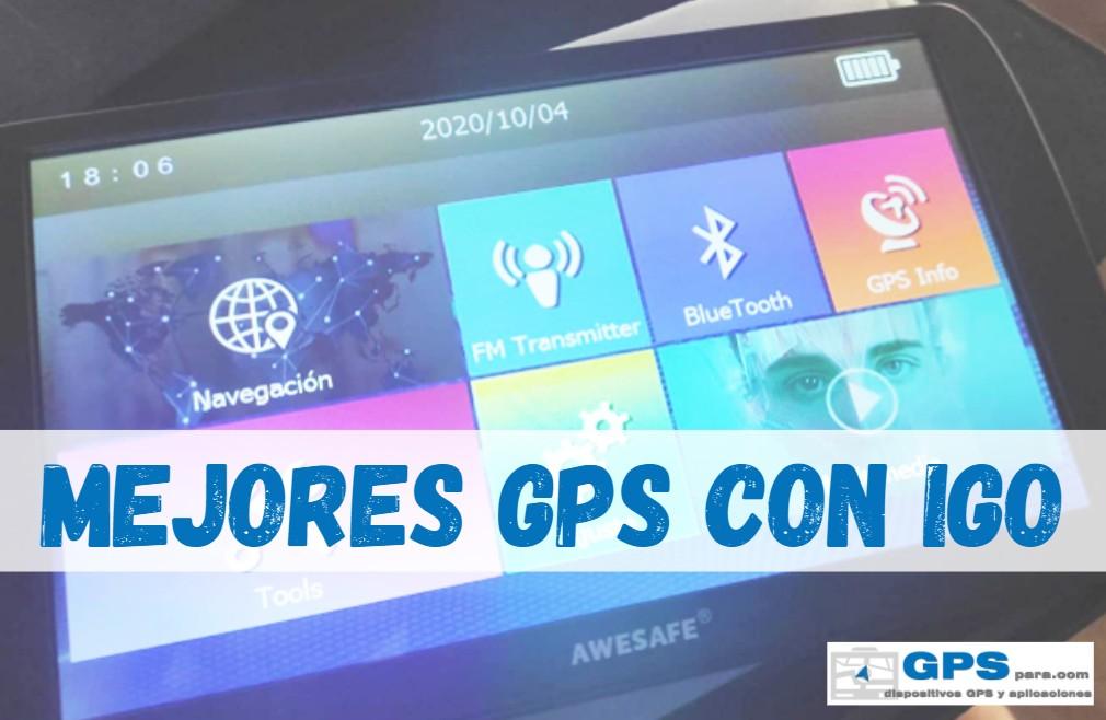 Comprar GPS con IGO Primo
