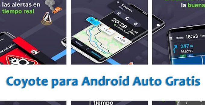 App de Coyote para Android Auto Gratis