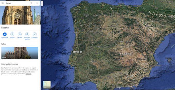 Mapa Satelital De España.Programas Para Ver Mapas Satelitales Gratis De Todo El Mundo
